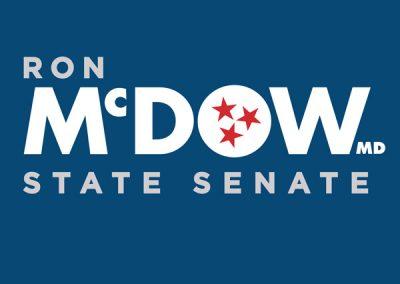 Ron McDow State Senate - Window Sticker