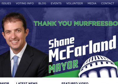 Shane McFarland Mayor Nav Political Website