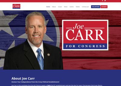 Carr 4 Congress Nav Political Website