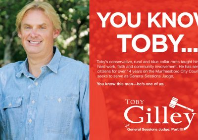 Toby Gilley Direct Mail
