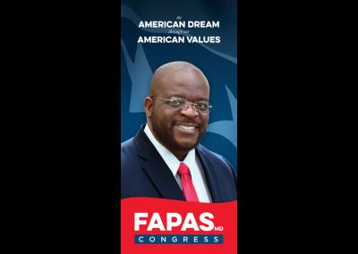 Fapas 4 Congress - Palm Card - Front