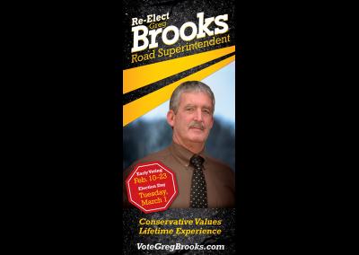 Greg Brooks Palm Card